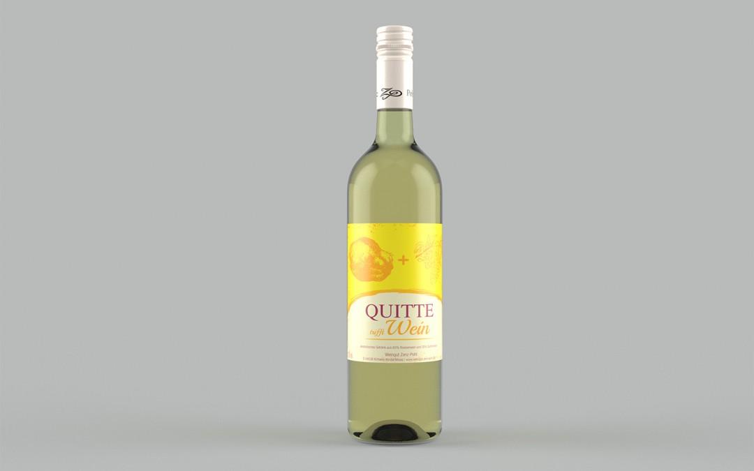 Quitte trifft Wein