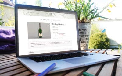 Online! Unsere neue Webseite und Webshop sind seit 15. Juli online