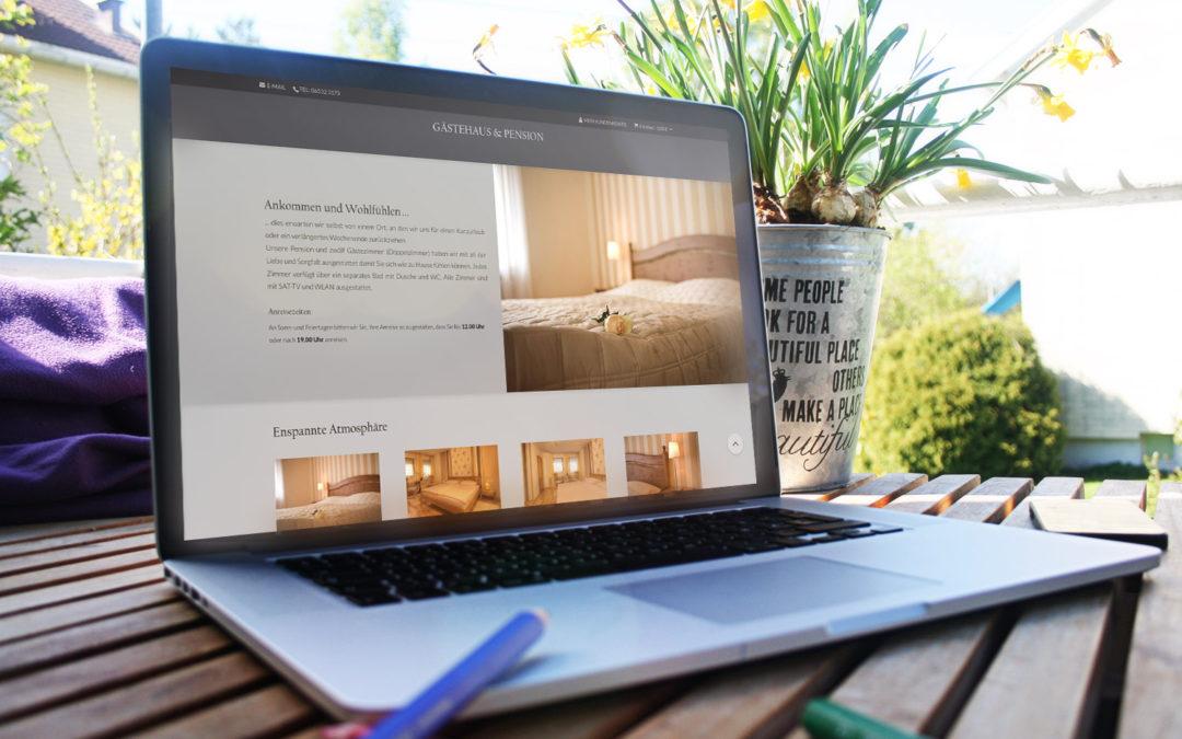 Online! Webseite und Shop
